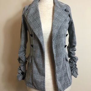 SZ 4 plaid blazer
